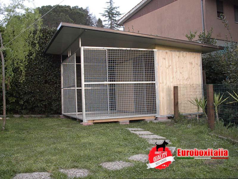 Box in legno 4x2 recinto esterno for Recinto per cani in legno