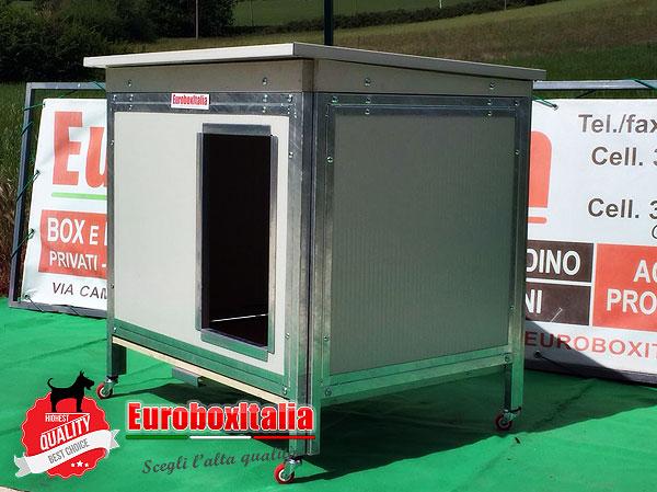 Cuccia per cani in coibentato modello euroboxitalia for Cucce in coibentato