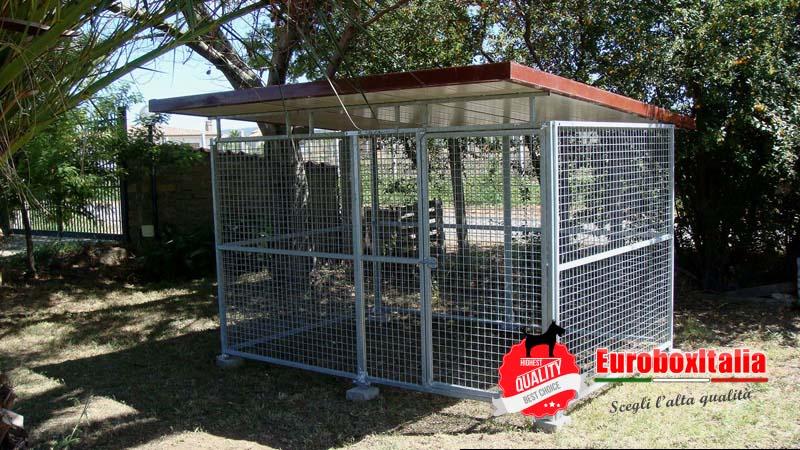 Recinto per cani in rete 3x2 - Recinto mobile per cani ...